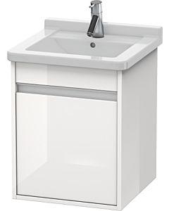 Duravit Ketho Waschtischunterschrank KT6662L2222 weiß hochglanz, Anschlag links,für Starck 3 030348