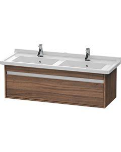 Duravit Ketho Waschtischunterschrank KT666607979 Nussbaum natur, 1 Auszug, für Starck 3 033213