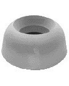 WC-Außenverbinder 170123 für alten Einlauf 48mm für Druckspüler 38-45mm, weiss