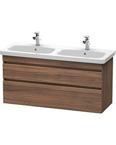 Duravit DuraStyle Waschtischunterbau DS649807979 Nussbaum Natur, 123x44,8x61cm, 2 Auszüge