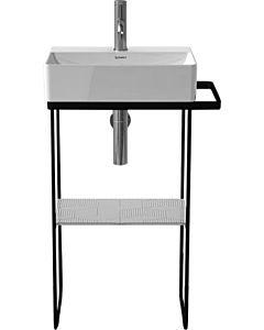 Duravit DuraSquare Metallkonsole 0031094600 bodenstehend, zu Waschtisch 073245, schwarz matt