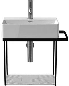 Duravit DuraSquare Metallkonsole 0031104600 wandhängend, zu Waschtisch 073245, schwarz matt