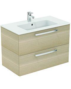 Ideal Standard Eurovit Plus Möbelpaket K2978SG Eiche Anthrazit Dekor, 81,5x56,5x45cm