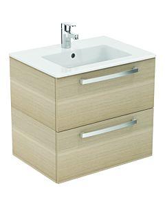 Ideal Standard Eurovit Plus package K2979SG oak anthracite decor, 61x56,5x45cm