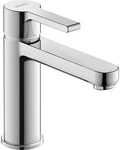 Duravit B.2 M Waschtischarmatur B21020002010 chrom, ohne Ablaufgarnitur, Ausladung 139mm