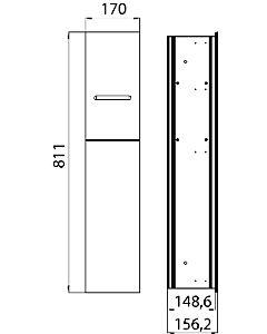 Emco Asis cadre de montage 975000051 811mm