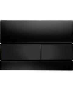 TECEsquare Betätigungsplatte 9240809 Glas schwarz, Tasten Schwarz