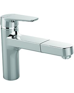 Ideal Standard CeraPlan III kitchen tap B0957AA chrome, low pressure, with pull-out spray