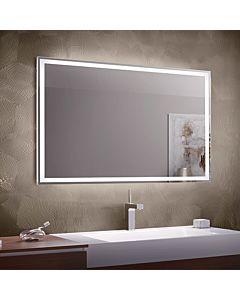 Zierath Visibel Pro Lichtspiegel ZVISI0101100070 100x70cm, umlaufend LED hinterleuchtet, 47 Watt