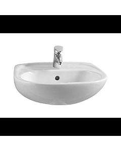 Vitra Normus Waschtisch 5079L003 50,5x41cm, weiß, 1 Hahnloch