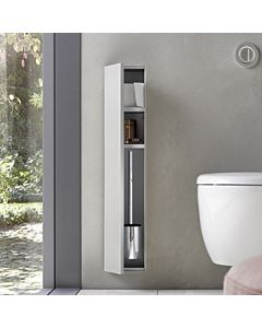 Emco Asis Plus WC-Modul 975611000 Anschlag links, Unterputzmodul, befliesbar
