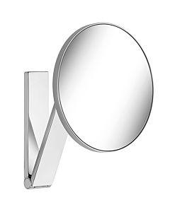 Keuco Kosmetikspiegel iLook_move 17612010000 Wandmodell, chrom. mit 5-fach Vergrößerung
