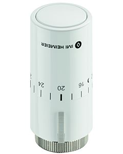 IMI Heimeier Halo Thermostatkopf 750000500 Skalenhaube weiss RAL 9016