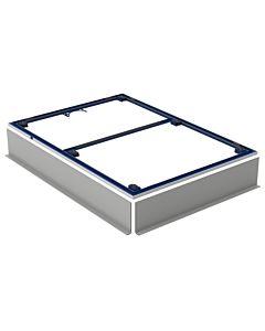 Geberit Setaplano Installationsrahmen 154475001 90x140cm für Duschflächen Setaplano, für 6 Füße