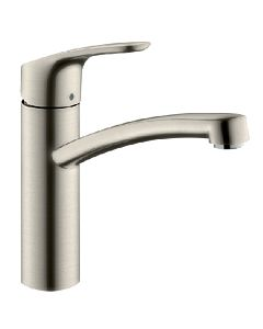 hansgrohe Focus E2 Kitchen mixer 31806800 stainless steel optic