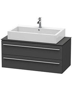 Duravit Waschtisch Unterschrank XL651204949 100x47,8x44cm, X-Large, Grau matt