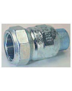 """Gebo Verschraubung Typ A 011500001 1/2"""" / 21,3 mm, für Stahlrohr"""