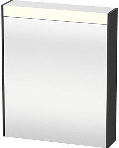 Duravit Brioso LED-Spiegelschrank BR7101L4949 620x760mm, Graphit Matt, Tür links