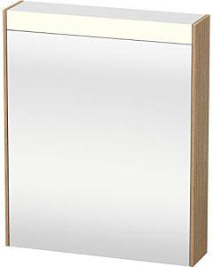 Duravit Brioso LED-Spiegelschrank BR7101L5252 620x760mm, Europäische Eiche, Tür links