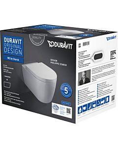 Duravit ME by Starck Wand-WC Rimless® Set 45290900A1, weiss, mit WC und WC-Sitz
