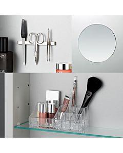 Laufen Frame 25 Accessoires-Set 4906009000001 mit Kosmetikspiegel, Magnetleiste, Schale