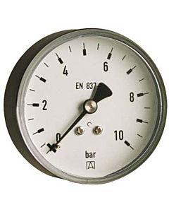 Afriso Rohrfedermanometer 63539 G 1/4 B, 10 bar, Gehäuse-d= 63mm