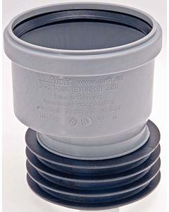 Airfit Plus plug-in socket 111110S DN 110 x 110, eccentric, PP