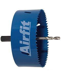 Airfit circle cutter 20121KS Ø 121mm, complete, HSS bimetal, drilling depth 47mm