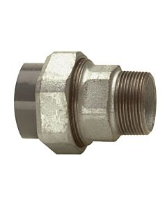 "Bänninger Raccord de tuyau PVC-U / gtw 1T50118032 63mmxR 2 "", DN 50"