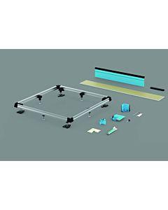 Bette Einbausystem Universal B506074 120x100 cm, für bodenebene Montage