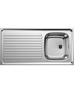 Blanco Auflagenspüle 510502 100x50cm, Edelstahl, reversibel