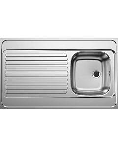 Blanco Auflagenspüle 510503 100x60cm, Edelstahl, reversibel