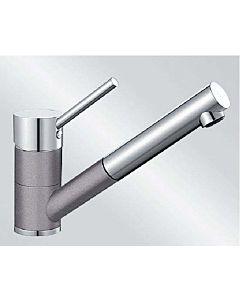 Blanco Antas-s Küchenarmatur 516765 Niederdruck, SILGRANIT-Look alumetallic/chrom