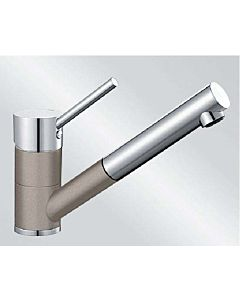 Blanco Antas-s Küchenarmatur 517638 Niederdruck, SILGRANIT-Look tartufo/chrom