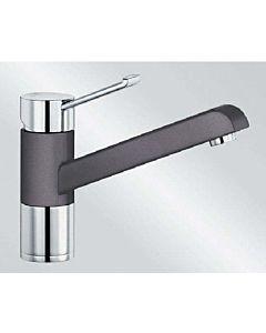 Blanco Zenos Küchenarmatur 518783 SILGRANIT-Look felsgrau/chrom