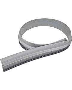 Blanco Wandanschlussprofil 137077 100 cm, Kunststoff grau, für reversible Spülen