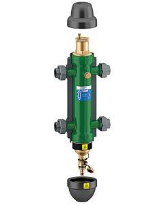 """Caleffi SEP4 hydraulische Weiche 1"""" 549506 mit Verschraubung und Isolierung"""