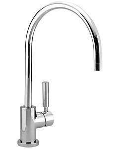Dornbracht Tara Classic single lever kitchen mixer 33800888-00 handle right, projection 200mm, chrome