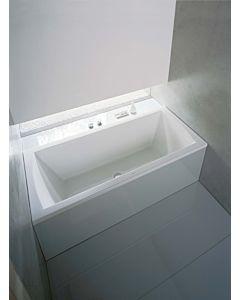 Duravit baignoire rectangulaire Daro 180 x 80 cm, blanc, version Duravit