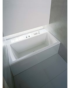 Duravit rectangular bath Daro 180 x 80 cm, white, built-in version