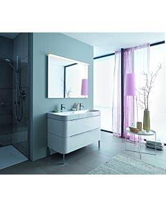 Duravit Happy D.2 Möbel Waschtisch 2318120024 1200 mm, 2 Hahnlöcher, mit Überlauf, weiss