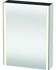 Duravit XSquare Spiegelschrank XS7111L2222 60x80x15,6cm, Tür links, weiß hochglanz
