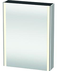 Duravit XSquare Spiegelschrank XS7111L3939 60x80x15,6cm, Tür links, Nordic weiß seidenmatt