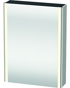 Duravit XSquare mirror cabinet XS7111R0707 60x80x15.6cm, door on the right, concrete gray matt
