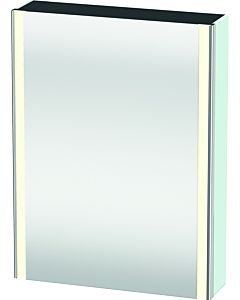 Duravit XSquare mirror cabinet XS7111R0909 60x80x15.6cm, door on the right, light blue matt