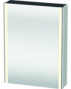 Duravit XSquare mirror cabinet XS7111R3636 60x80x15.6cm, door on the right, white silk matt