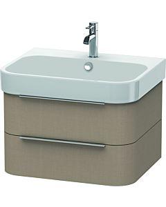 Duravit Happy D.2 Waschtischunterbau H2636407575 62,5x48x38 cm, Leinen, 2 Schubkästen