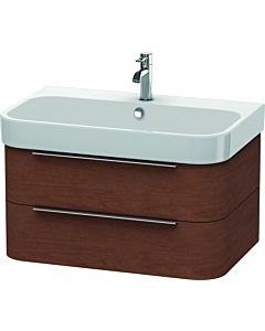 Duravit Happy D.2 Waschtischunterbau H2636501313 77,5x48x38cm, Amerik. Nussbaum, 2 Schubkästen