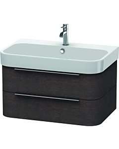 Duravit Happy D.2 Waschtischunterbau H2636507272 77,5x48x38cm, Eiche dunkel, 2 Schubkästen