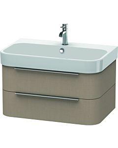 Duravit Happy D.2 Waschtischunterbau H2636507575 77,5x48x38cm, Leinen, 2 Schubkästen